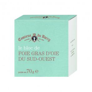Bloc de foie gras de oca 70 gr. Comtesse Du Barry