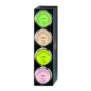 Farandole de 4 tarrinas de 50 gr. Comtesse du Barry