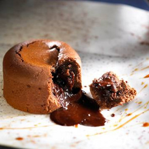 Coulant - Pastel de chocolate líquido 18 piezas