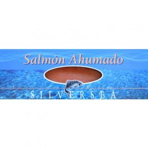 Salmón ahumado precortado 1,5 Kg.