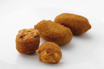 Croqueta de 25 gr. de cocido (carne y verduras) 1 kg.