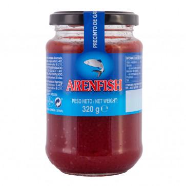 Sucedáneo de caviar rojo 340 gr.