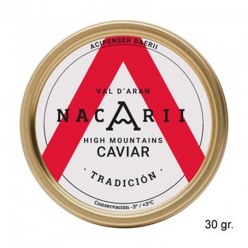 """Caviar de esturión """"Tradición"""" 30 gr."""