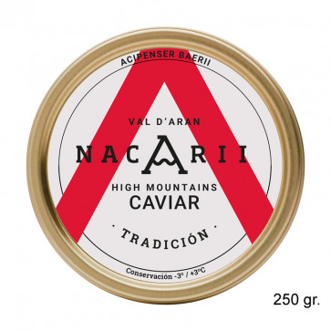 """Caviar de esturión """"Tradición"""" 250 gr"""