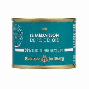 Medallón de foie de oca 70 gr. Comtesse Du Barry