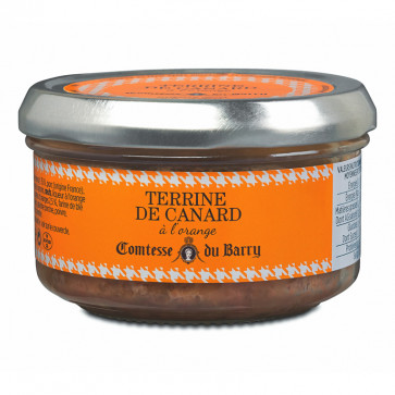 Tarrina de pato a la naranja de 140 gr. Comtesse du Barry