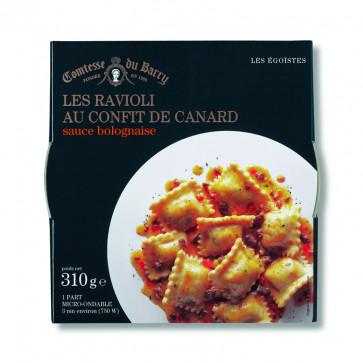 Raviolis al confit de pato en salsa boloñesa 310 gr.