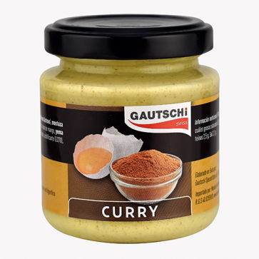 Salsa Curry 115 gr. Gautschi