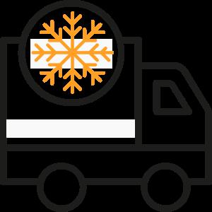 Transporte producto congelado