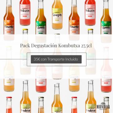 Pack Degustación Kombutxa
