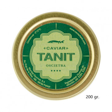 Caviar Tanit-Oscietra 200 gr