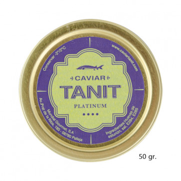 Caviar Tanit-Platinum 50 gr
