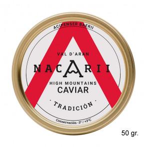 """Caviar de esturión """"Tradición"""" 50 gr"""