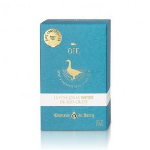 Foie gras entero de oca 205 gr. Comtesse Du Barry