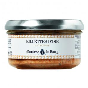 Tarrina de rilletes de oca de 140 gr. Comtesse du Barry