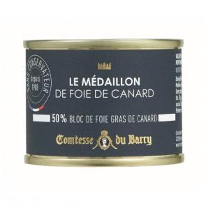 Medallón de foie de pato 65 gr. Comtesse Du Barry