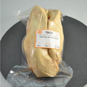 Foie gras de pato fresco primera 650 gr. aprox.