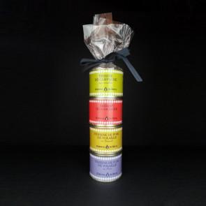 Mini-baguette de 4 patés de 70 gr Comtesse du Barry