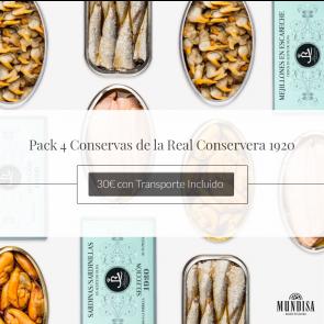 Pack Conservas Real Conservera 1920