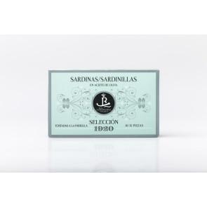 """Sardinillas en aceite de oliva 1920 """"Pequeñas"""""""