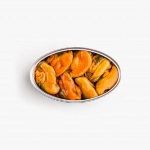 """Mejillones  """"fritos"""" en escabeche 6/8 piezas"""