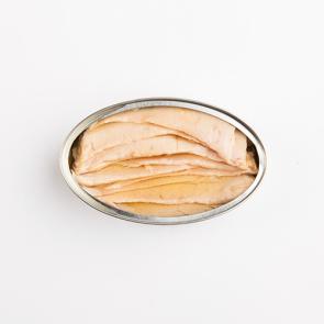 Ventresca de atún claro en aceite de oliva Lata OL-120